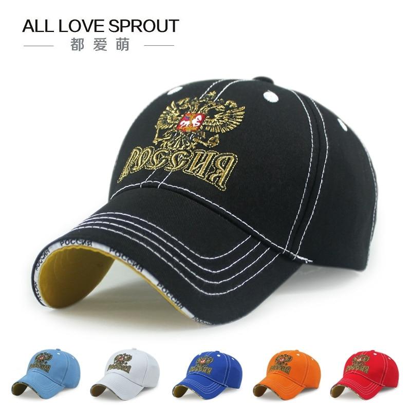 2017 Baseball Cap High Quality Adjustable Russia Hat Baseball Cap Adults Men Visor Casual Hat Snapback Women's Hats цена 2017