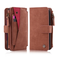 6 Styles Flip Phone Fundas Etui Case For IPhone X 10 PU Leather Soft Silicon Wallet