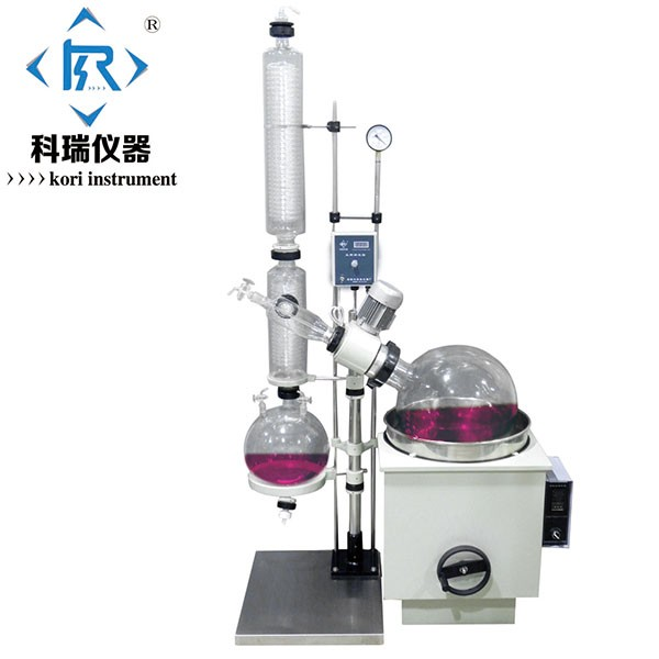 10L Rotary Evaporator glassware for distillation lab equipment from Rotary vacuum Evaporator manufacturer/Rotary Evap/Rotavapor new style re 2000b automatic lift up lab scale mini vacuum rotary evaporator with speed