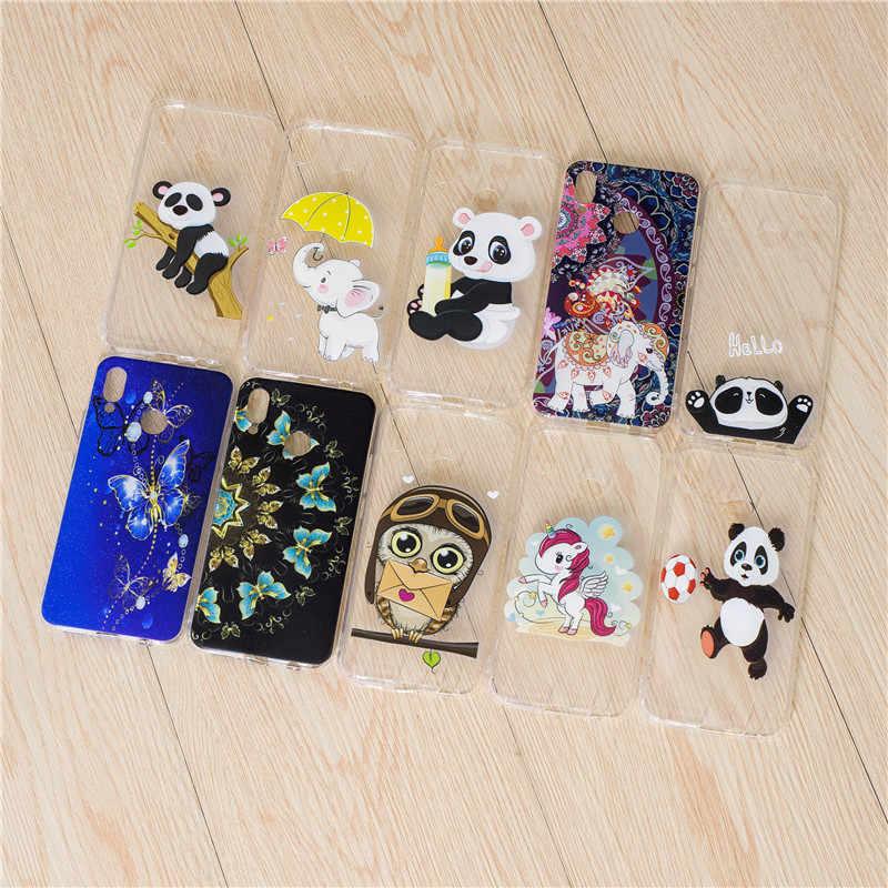 Wekays Cover For Huawei P10 Lite Cute Cartoon Panda Soft Silicon Fundas Case sFor Coque Huawei P 20 P20 Lite Nova 3E Cover Cases