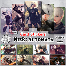 35pcs NieR Automata Card Stickers 2017 Video Game Sexy Heroine Characters YoRHa No. 2 Type B 9S A2 2B Collectible Glossy Sticker(China)