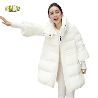 2016 Latest Spring Jacket Women Winter Coat Womens Clothing Medium Long Cotton Padded Slim Warm Jacket