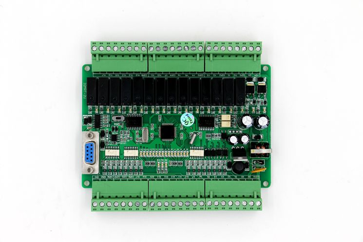 New FX1N FX2N 32MR PLC programmable logic controller RS232 RS485 modbus Master/Salve for plc programmable logic controller for fx2n 64mt 001