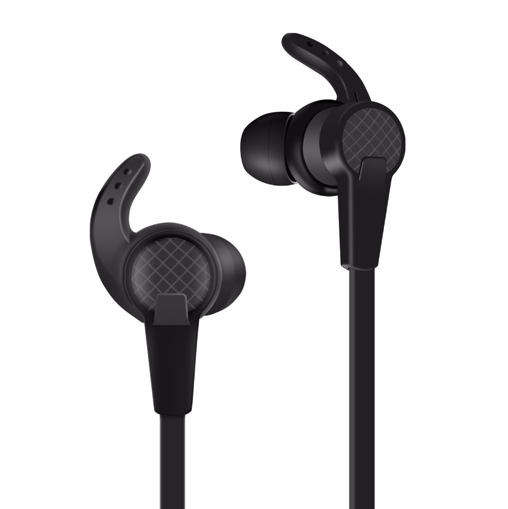 bluetooth 4 2 headset wireless headphone with microphone earbuds and bass boost. Black Bedroom Furniture Sets. Home Design Ideas