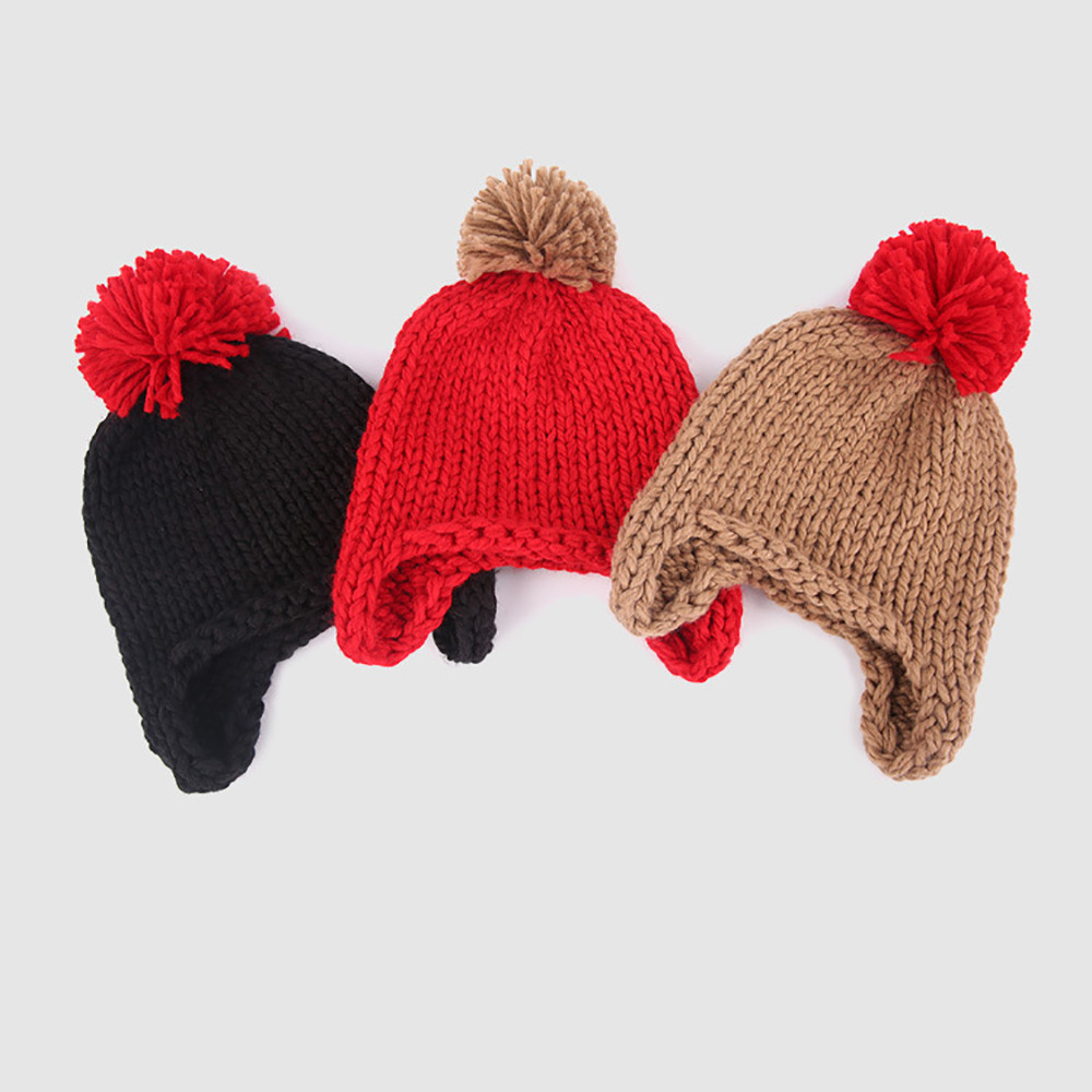 b9c96476281 Toddler Kids Girl Boy Baby Infant Winter Warm Crochet Cap Knit Hat Scarf  Two Set Z5-in Scarf