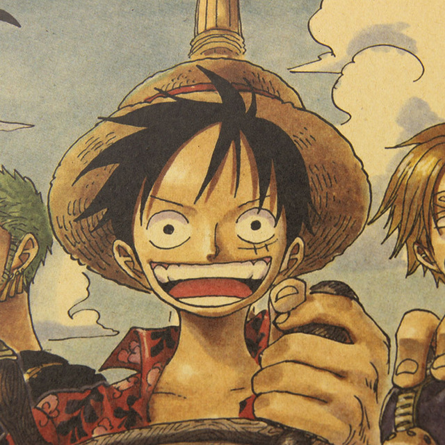 51 X 35.5CM ONE PIECE POSTER