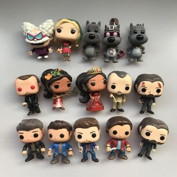 Original Funko pop Used John Wick Porkchop Doug Quaildog Flocked Supernatural Dean Sam Vinyl Figure Collectible Model Loose Toy image