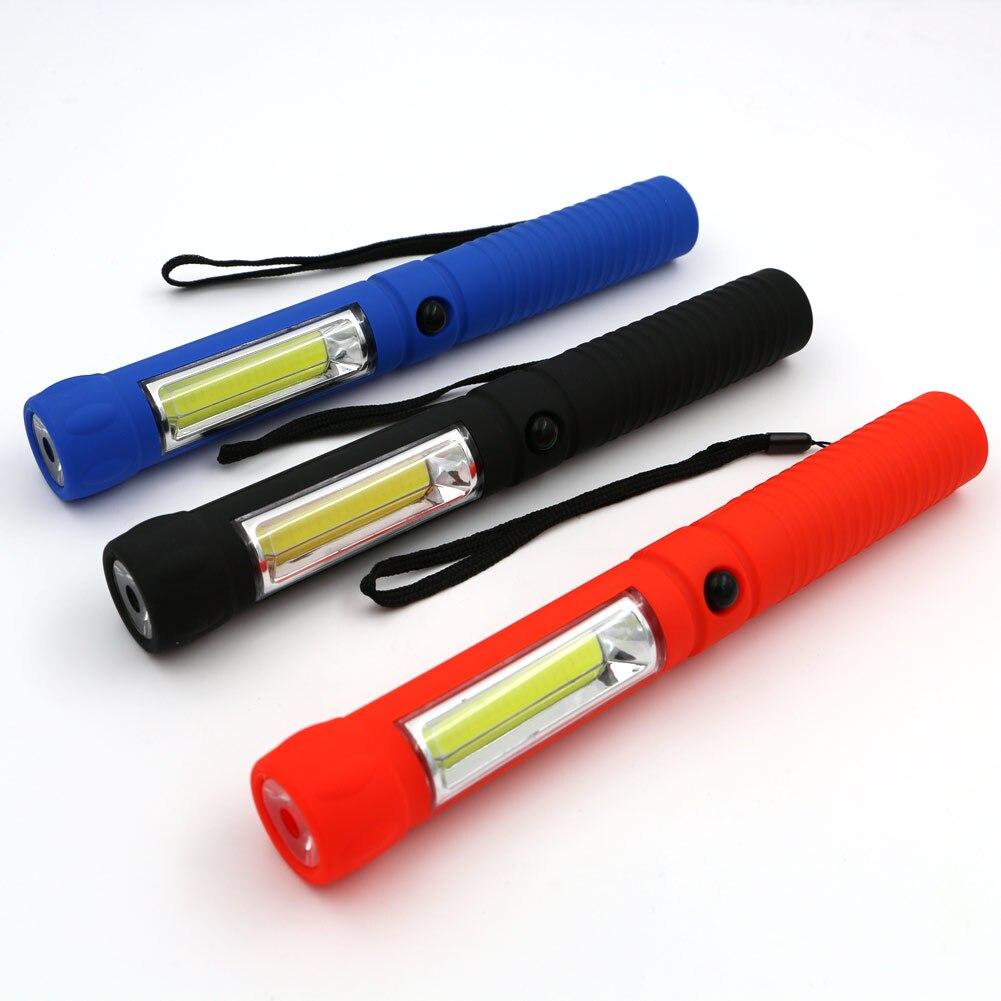 Cob Led Work Light Inspection Lamp Flashlight Torch: Pocket COB LED Work Light Mini LED Inspection Light Lamp