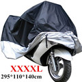 Universal Multi-function Waterproof Suncreen Dustproof UV Snow-shades Motorcycle Cover Sewing Clothing XXXXL 295 x 110 x 140cm