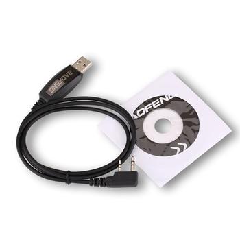 Baofeng USB كابل برجمة سائق CD ل UV-5RE UV-5R Pofung UV 5R Uv5r 888S UV-82 UV-9R اتجاهين راديو اسلكية تخاطب برنامج