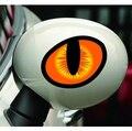 3D Olhos de Gato Refletivo Impressões de Metal Esqueleto Crossbones Motocicleta Etiqueta Do Carro Etiqueta do Emblema Do Emblema Car styling adesivos