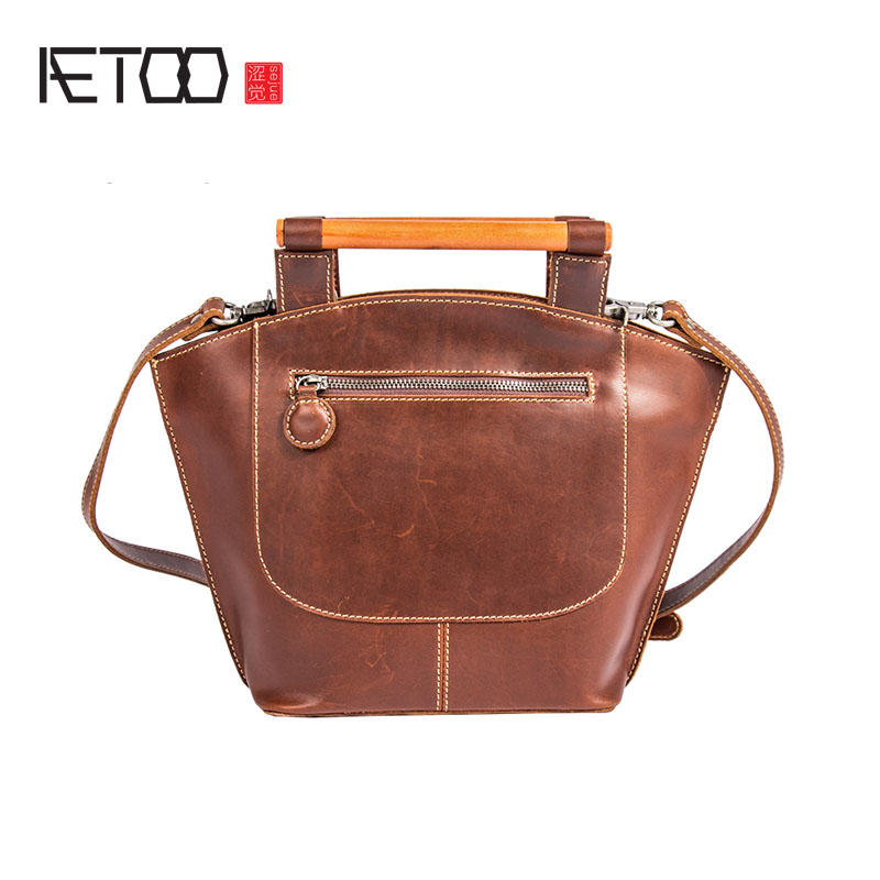 AETOO Women Handmade leather metal handle handbag handbags hand bag big bag tide retro art cowhide shoulderAETOO Women Handmade leather metal handle handbag handbags hand bag big bag tide retro art cowhide shoulder