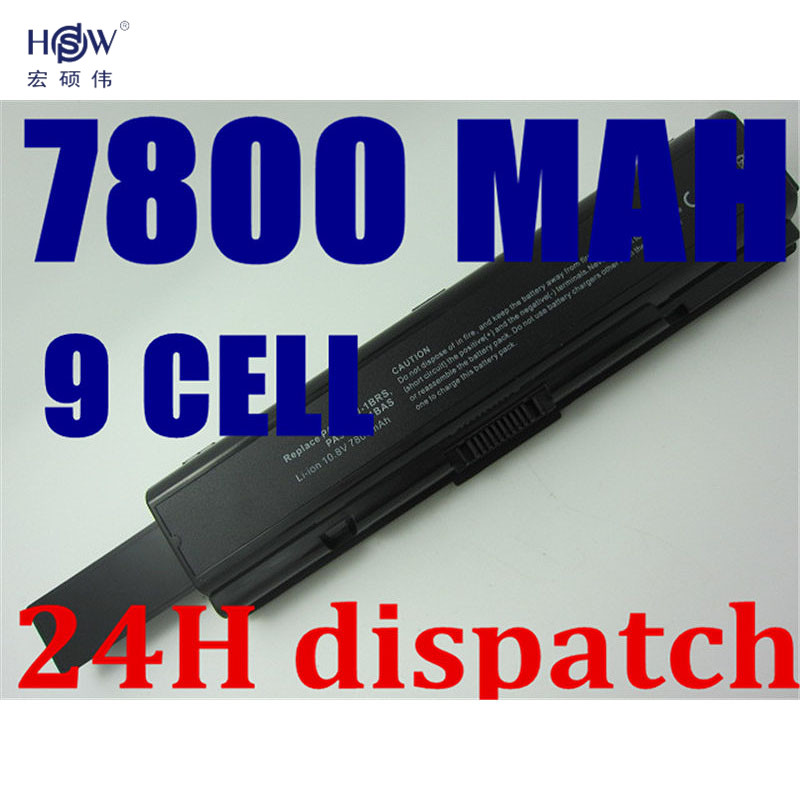 HSW Battery for Toshiba PA3534 Satellite Pro A200, A205, A210, A215, A300, A305, A305D, A355, A355D, A500, A505, A505D bateria аккумулятор topon top pa3534h toshiba satellite a200 a210 a300 p n pa3534 pa3535 10 8v 6600mah гарантия 6 мес