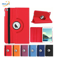 360 Rotating Litchi Leather Cover For Apple IPad Pro 12 9 A1584 A1652 Smart Stand Protective