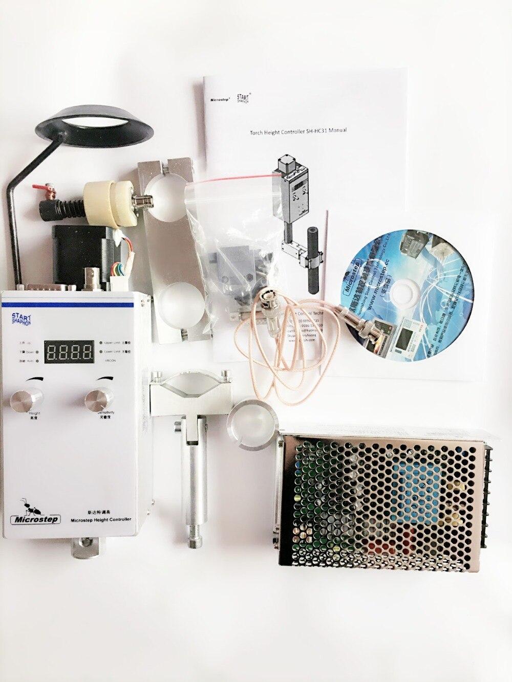 Nova Versão Arc e cap tensão Automática controlador de altura da tocha de plasma para CNC máquina de corte cortador de Plasma THC SH-HC31