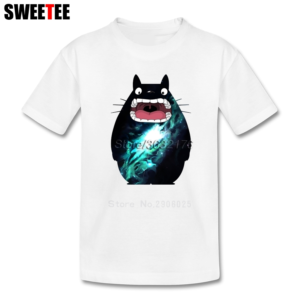 My Alien Neighbor Totoro Children T Shirt Cotton Short Sleeve O Neck Tshirt Garment Boys Girls 2018 Hot Sale T-shirt For Kids
