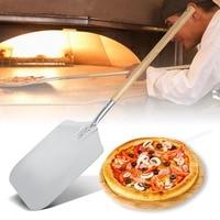 66 см Алюминиевый нож для пиццы лопата с деревянной ручкой лопатка для торта инструменты для выпечки резак для сыра мельницы инструмент лопа...