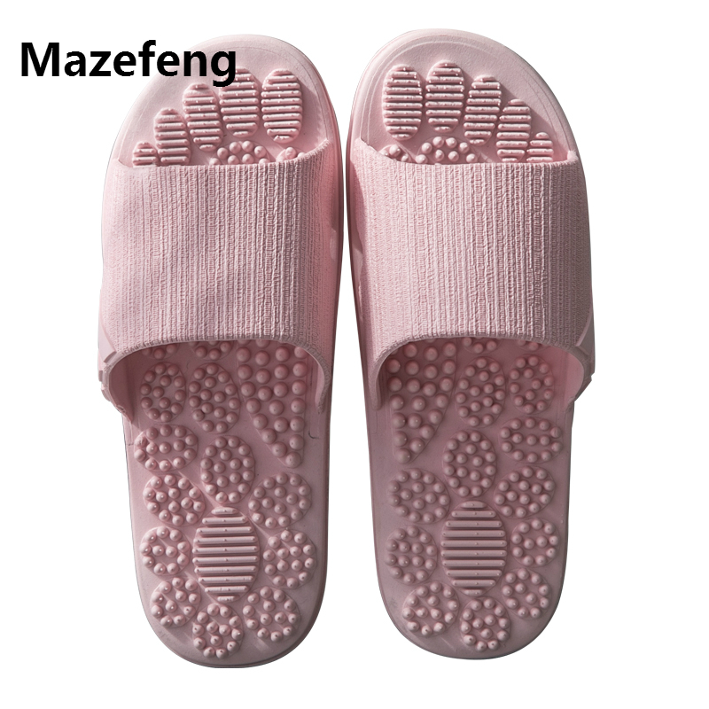 Massage Slipper Shoes Unisex Summer Slipper Acupoint Healthcare Slipper Health Rotating Accupressure Foot Slippers Men&Women