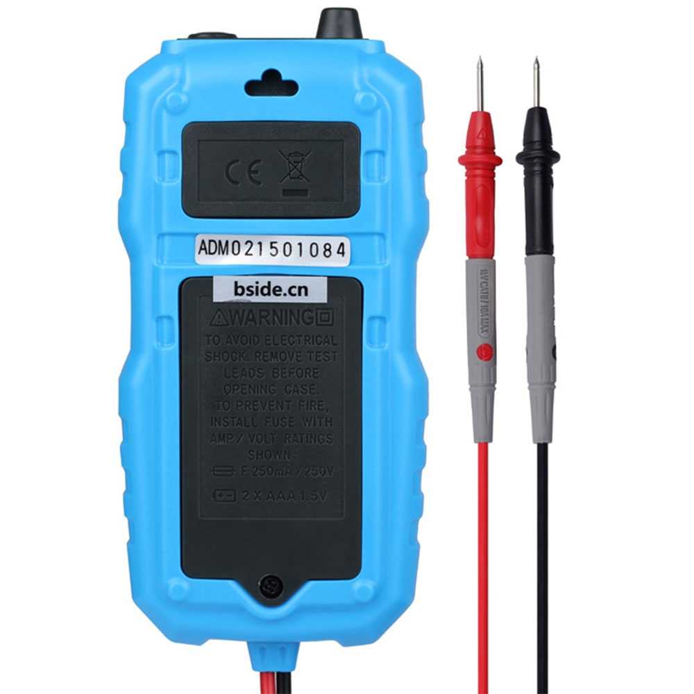 small resolution of  bside adm04 lcd digital multimeter mini pocket 2000 counts dmm dc ac voltage current meter