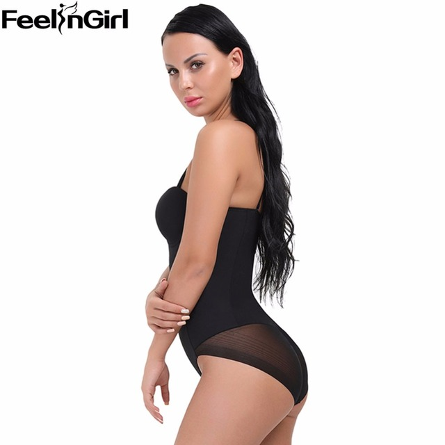 e808b905fcddd Hot Waist Trainer Women Bodysuit Slimming Underwear Tummy Body Shaper  Overbust Corset Fat Burner Cinta Modeladora Shapewear