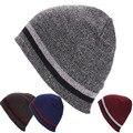 Winter hat Men Women Knit Beanie Reversible Skull Chunky Baggy Cap Warm Hat Unisex