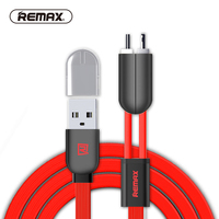 REMAX Gemini 2in1 USB Cable for 8pin iPhone7/ipad Micro USB Magnetic sync Fast Charging USB Charger Cable for Samsung/xiaomi/HTC