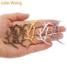 Julie Wang 10 шт. подвески из сплава ручной работы Подвески для ювелирных изделий Аксессуары 5 цветов на выбор