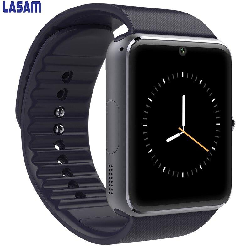 imágenes para Reloj inteligente Reloj GT08 Con Ranura Para Tarjeta Sim Empuje Mensaje Conectividad Bluetooth Teléfono Android Smartwatch GT08