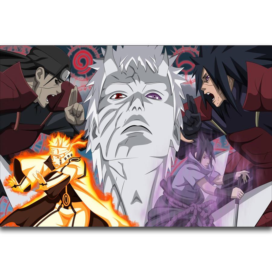 S2340 Madara Uchiha Naruto Hot Japan Anime Wall Art Painting Print Tsume