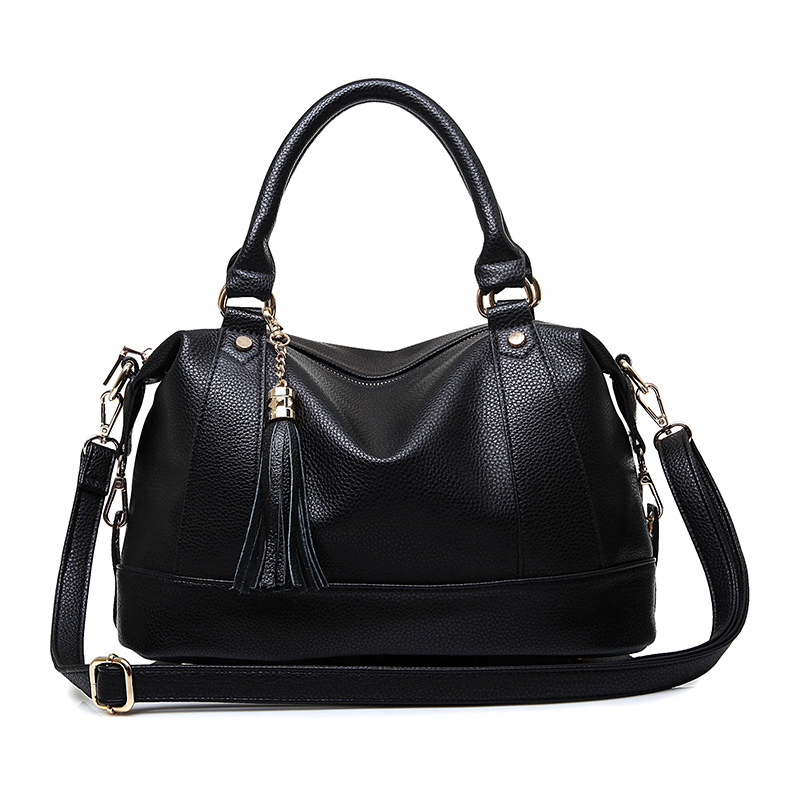 Luxury Leather Bags Handbags Women Famous Brands Big Casual Women Bags Trunk Tot