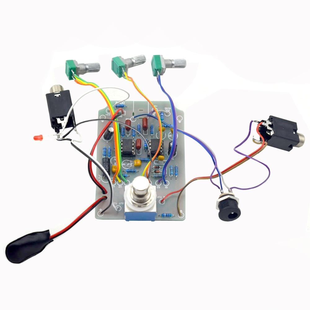 Kit de pedal de efectos de guitarra Overdrive DIY con kits de pedales - Instrumentos musicales - foto 4