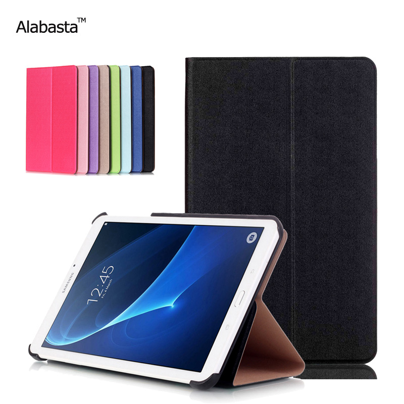 For Samsung Galaxy Tab A7 T280 T285 7 Slim Folding Cover Case Tablet Stand PU Leather Perfect Safe Protection Alabasta аксессуар чехол samsung galaxy tab a 7 sm t285 sm t280 it baggage мультистенд black itssgta74 1