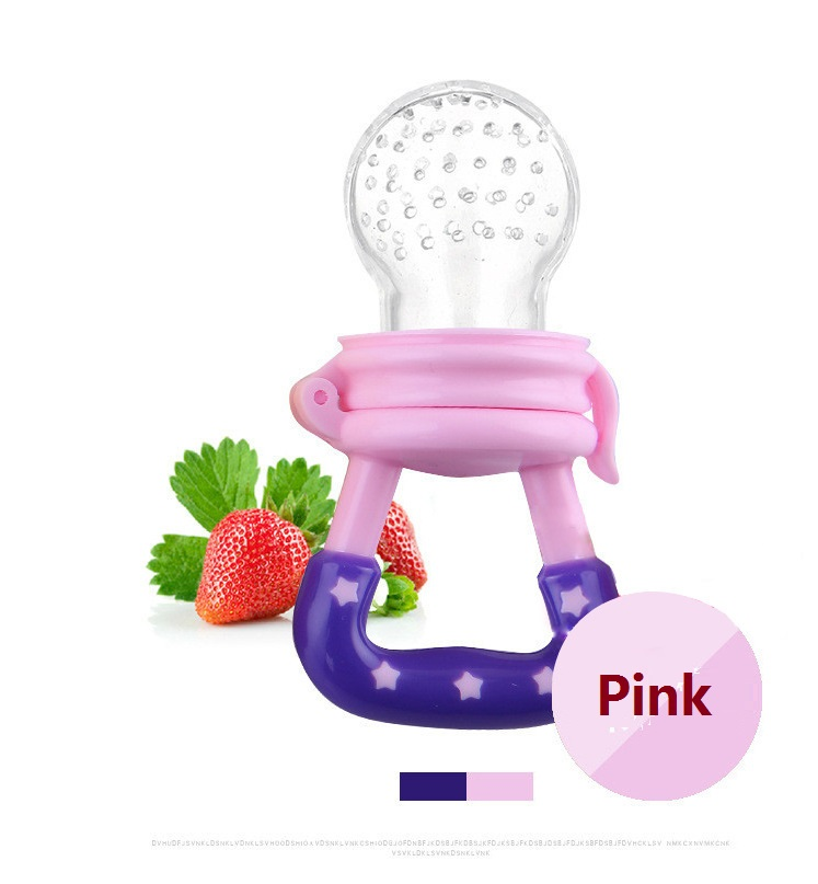 Silicone Baby Pacifier Infant Nipple Soother Toddler Kids Pacifier Feeder For Fruits Food Nibler Dummy Baby Feeding Pacifier Baby & Kids
