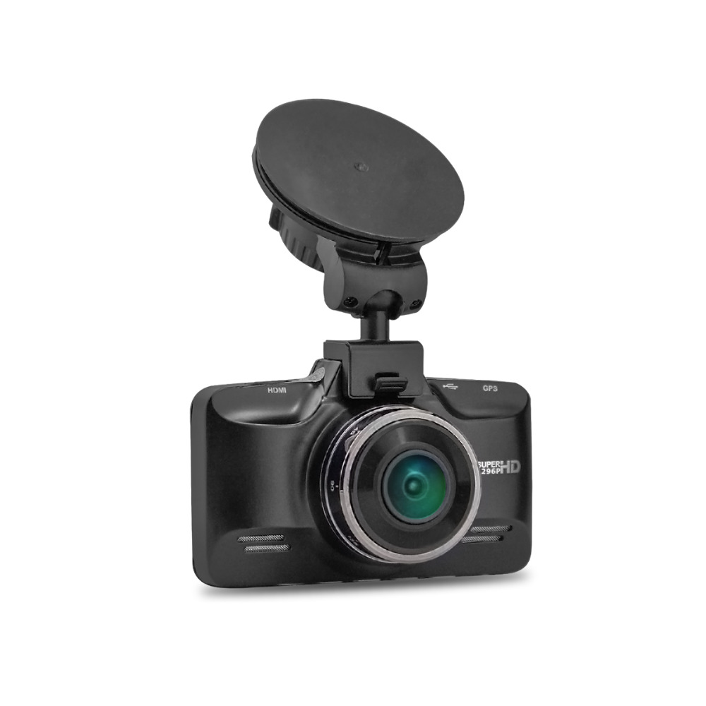 ФОТО Ambarella A7LA70 GS98C Car DVR GPS Logger 1296P Full HD 2.7 inch Screen Night Vision 178 Degree Angle Lens G-Sensor