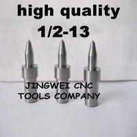 Hohe qualität hartmetall fluss drill America system UNC 1/2-13 (11,7mm) rund, form bohrer für edelstahl