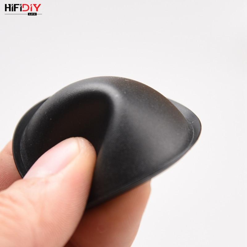 HIFIDIY LIVE  Woofer Speaker Repair Parts Accessories Black Audio Soft Rubber Dust Cover Dome Dust CAP Series 40mm 45mm 54mm