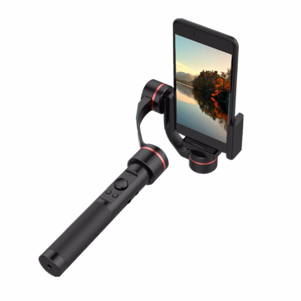 Smart 3 Axis Handheld Video Shooting Stabilizer Shake Proof Steadicam Gimbal For Camera Smart Phones Within 5.7 Screen yuneec q500 typhoon quadcopter handheld cgo steadygrip gimbal black