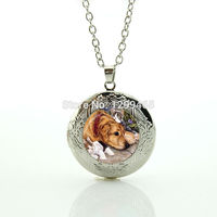 Wholesale Charms mini  style Jewelry dog picture dress accessories lovely pet jewelry personalized gift for fans N 950