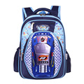 The boy cartoon school bag 3D fashion car backpack high density waterproof school bag lovely boy's schoolbag DDWB123