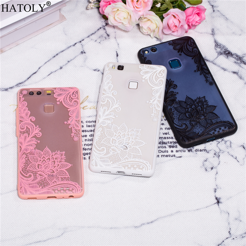 HATOLY Huawei P9 Case Huawei P9 Cover Rubber Silicone Phone Armor Shell Bumper Protector Funda Hard Style Case For Huawei P9
