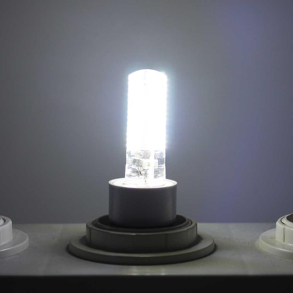 LED G9 220V 240V SMD 3014 Corn Light Bulb 3W 5W Super bright 360 degree Replace 30W Halogen Lamp mini candle spotlight