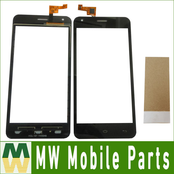 1PC / Lot High quality For Ark S451 Touch Screen Digitizer Touch Panel Black Color with tape