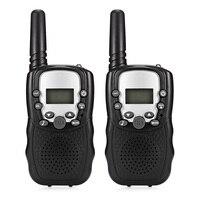 1 paire enfant enfants talkie-walkie jeu parental téléphone Mobile jouet parlant 8 canaux 3 KM gamme pour enfants 2 pièces Drop