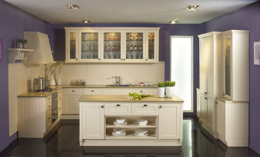 Made In China Kitchen Wall Hanging Cabinet Kitchen Cabinet With Shelf Wooden Kitchen Cabinet-in