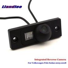 цена на Liandlee For Volkswagen Polo Sedan 2003-2008 Car Parking Camera Backup Rear View Camera / SONY CCD Integrated Nigh Vision