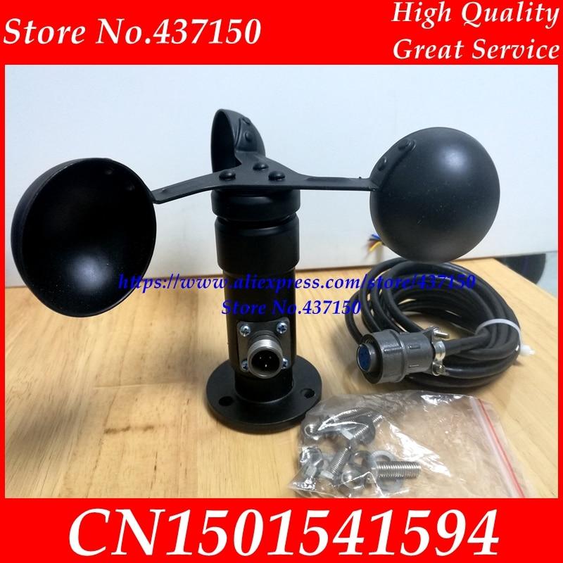 Wind speed sensor voltage signal 4 20MA 0 5V current output wind speed transmitter anemometer free
