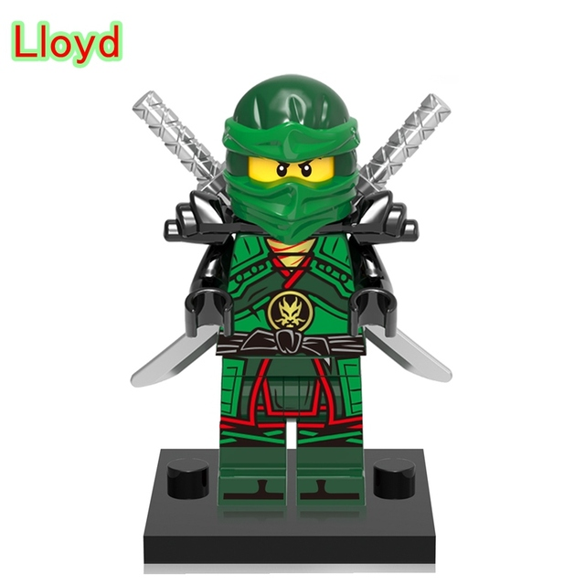 Lloyd Legoing Ninjago Gold Master Spinjitzu Ninja Figures Action