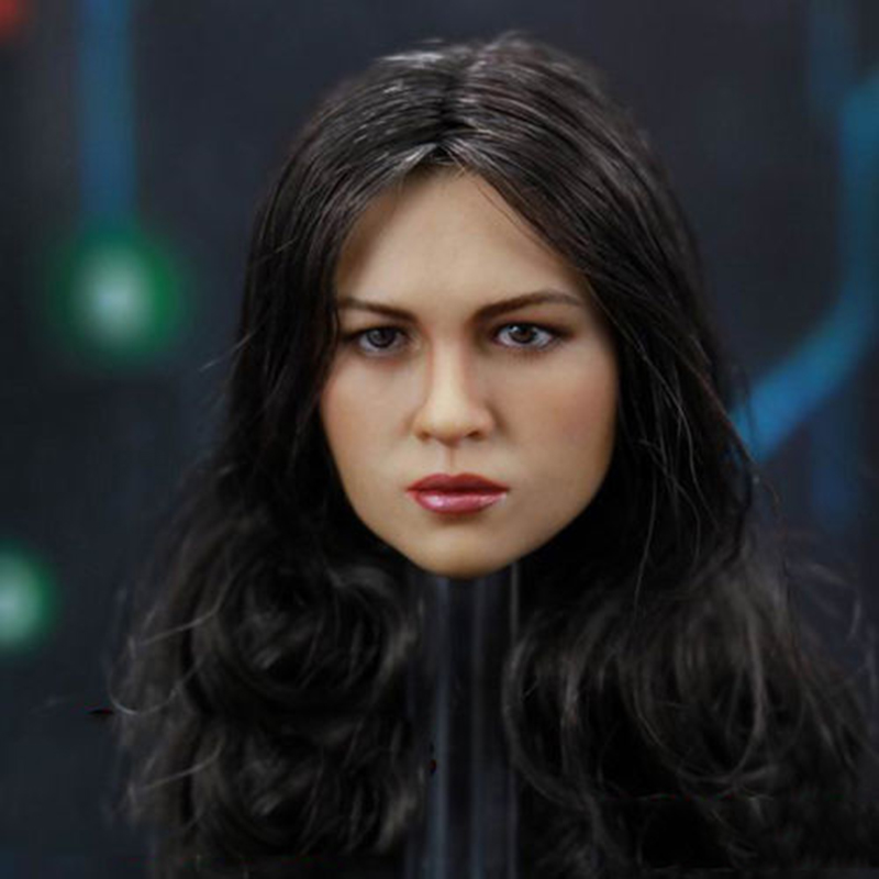 1/6 Fast and Furious 8  Michelle Rodriguez Furious Lady Head Sculpt for 12 inches Action Figures1/6 Fast and Furious 8  Michelle Rodriguez Furious Lady Head Sculpt for 12 inches Action Figures