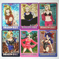 32pcs/set Super Dragon Ball Heroes Battle Card Sexy Android 18 Goku Vegeta Game Collection Double Chess Anime Cards