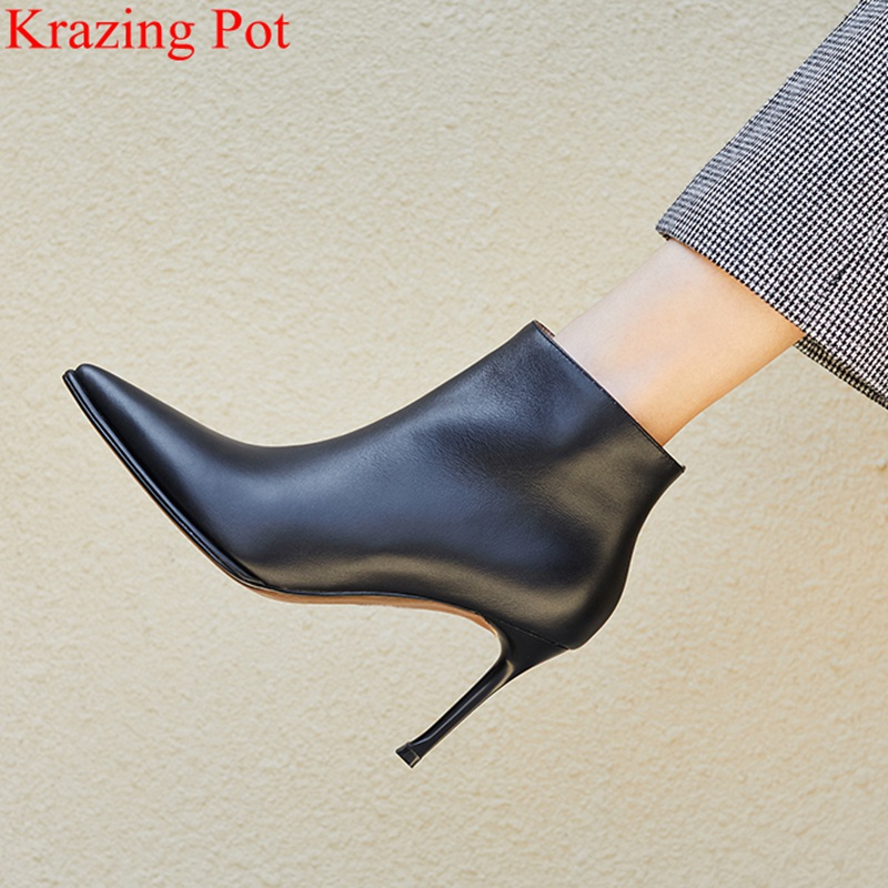 2018 superstar pointed toe elegant style mujer mid calf boots zipper nightclub brand super high runway